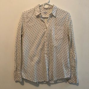 Steven Alan button up 100% cotton made in USA